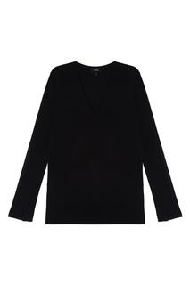 Однотонный пуловер Theory