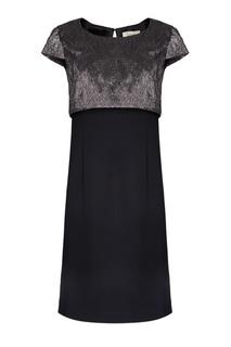 Комбинированное платье Biryukov