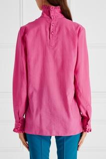 Хлопковая блузка Gucci