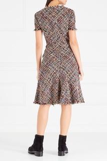 Платье из букле Alexander Mc Queen