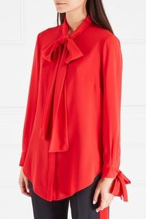 Шелковая блузка Alexander Mc Queen