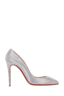 Кожаные туфли Pigalle Follies Strass 100 Christian Louboutin