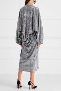 Плиссированное платье Cyrille Gassiline Base