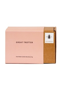 Свеча Sparkling Rose, travel-size, 200 g Great Trotter