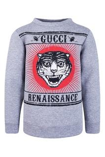 Хлопковый свитшот Gucci Children