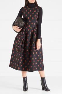 Жаккардовое платье Simone Rocha