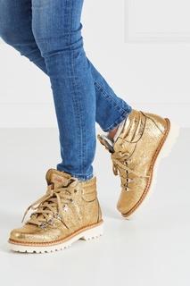 Кожаные ботинки Margherita Montelliana