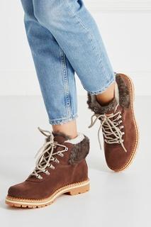 Замшевые ботинки Sequoia Montelliana