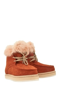 Замшевые ботинки Melissa Montelliana
