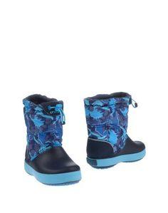 Полусапоги и высокие ботинки Crocs