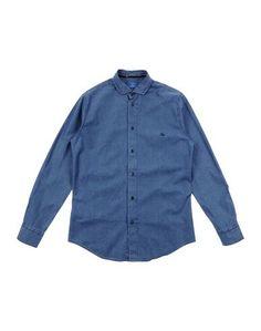 Джинсовая рубашка FAY Junior