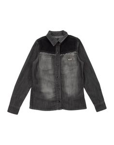 Джинсовая рубашка Miss Blumarine Jeans