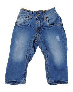 Джинсовые брюки Monnalisa NY & LON