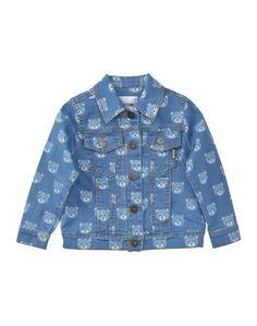 Джинсовая верхняя одежда Moschino KID