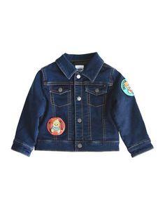 Джинсовая верхняя одежда Moschino Baby