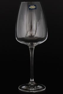 Бокалы для вина 440 мл, 6 шт. Crystalite Bohemia