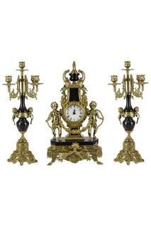 Набор: часы, 2 канделябра Stilars