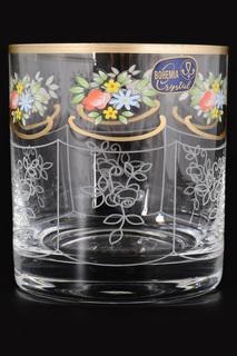 Набор стаканов для виски, 6 шт BOHEMIA CRYSTAL