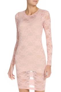 Платье гипюрное прилегающего силуэта American Apparel