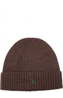 Шерстяная шапка бини Polo Ralph Lauren