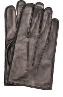 Кожаные перчатки Polo Ralph Lauren