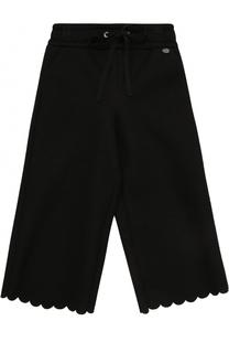 Спортивные брюки свободного кроя с фигурной отделкой Simonetta
