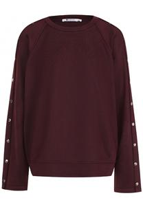 Пуловер свободного кроя с круглым вырезом T by Alexander Wang