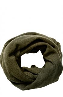 Кашемировый шарф-снуд Tegin