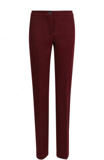 Укороченные вельветовые брюки со стрелками Erika Cavallini