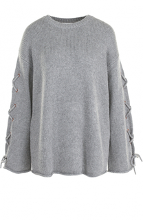 Вязаный пуловер с декоративной отделкой See by Chloé