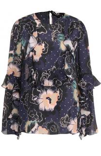 Блуза с длинным рукавом и принтом See by Chloé