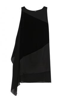 Мини-платье прямого кроя без рукавов Lanvin