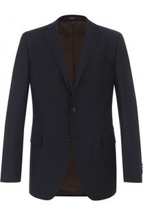 Шерстяной однобортный пиджак Windsor