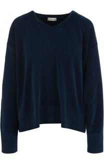Пуловер свободного кроя с V-образным вырезом Dries Van Noten