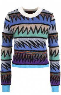 Вязаный пуловер с круглым вырезом Missoni