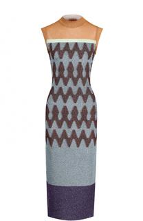 Вязаное платье-миди без рукавов Missoni