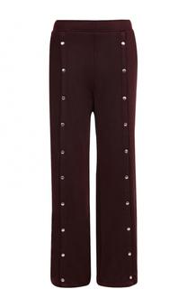 Широкие расклешенные брюки с карманами T by Alexander Wang