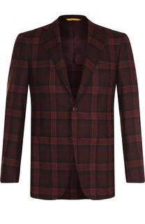 Шерстяной однобортный пиджак Canali