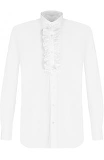Хлопковая сорочка с оборками Caruso