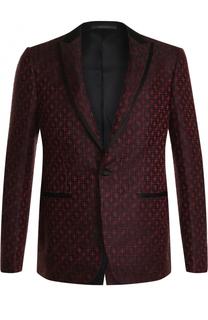 Вечерний пиджак из смеси вискозы и шелка Pal Zileri