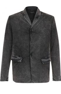 Однобортный хлопковый пиджак Transit