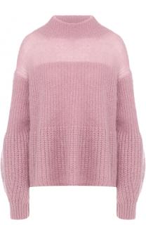 Шерстяной свитер свободного кроя BOSS