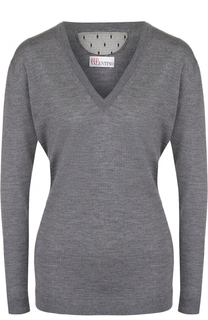 Пуловер из смеси кашемира и шелка REDVALENTINO