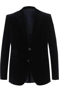 Однобортный хлопковый пиджак Baldessarini