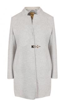 Шерстяное пальто с пуховым жилетом Fay
