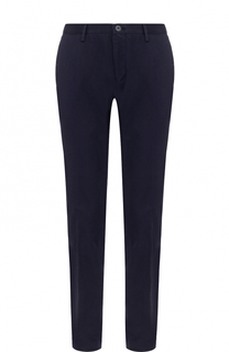 Хлопковые брюки прямого кроя BOSS
