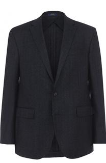 Шерстяной однобортный пиджак Polo Ralph Lauren