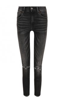 Укороченные джинсы-скинни с потертостями Polo Ralph Lauren