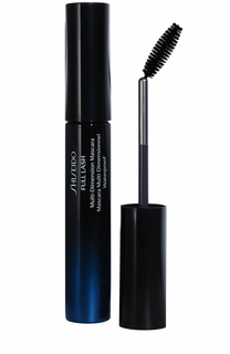 Водостойкая тушь для эффекта панорамных ресниц Full Lash, BK901 Shiseido