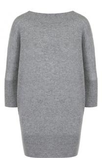 Шерстяной пуловер с укороченным рукавом Tegin
